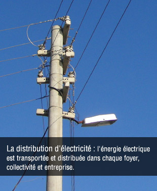 Distribution d'�lectricit�