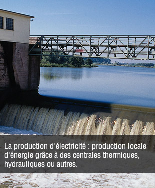 Production d'�lectricit�